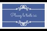 Calque élégant Cartes Pour Le Bureau - gabarit prédéfini. <br/>Utilisez notre logiciel Avery Design & Print Online pour personnaliser facilement la conception.
