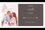 Réservez la date Cartes Pour Le Bureau - gabarit prédéfini. <br/>Utilisez notre logiciel Avery Design & Print Online pour personnaliser facilement la conception.