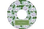 Savon fleurs vertes Étiquettes de classement - gabarit prédéfini. <br/>Utilisez notre logiciel Avery Design & Print Online pour personnaliser facilement la conception.