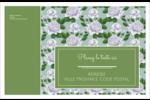 Savon fleurs vertes Étiquettes d'adresse - gabarit prédéfini. <br/>Utilisez notre logiciel Avery Design & Print Online pour personnaliser facilement la conception.