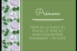 Savon fleurs vertes Étiquettes à codage couleur - gabarit prédéfini. <br/>Utilisez notre logiciel Avery Design & Print Online pour personnaliser facilement la conception.