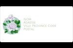 Savon fleurs vertes Étiquettes de classement écologiques - gabarit prédéfini. <br/>Utilisez notre logiciel Avery Design & Print Online pour personnaliser facilement la conception.