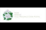 Savon fleurs vertes Intercalaires / Onglets - gabarit prédéfini. <br/>Utilisez notre logiciel Avery Design & Print Online pour personnaliser facilement la conception.
