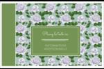 Savon fleurs vertes Cartes Et Articles D'Artisanat Imprimables - gabarit prédéfini. <br/>Utilisez notre logiciel Avery Design & Print Online pour personnaliser facilement la conception.