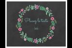 Craie florale Cartes Et Articles D'Artisanat Imprimables - gabarit prédéfini. <br/>Utilisez notre logiciel Avery Design & Print Online pour personnaliser facilement la conception.