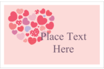 Infuse homespun style into custom projects with pre-designed Heart Quilt templates.