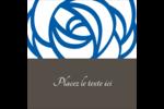 Roses bleues officielles Étiquettes enveloppantes - gabarit prédéfini. <br/>Utilisez notre logiciel Avery Design & Print Online pour personnaliser facilement la conception.