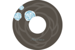 Roses bleues officielles Étiquettes de classement - gabarit prédéfini. <br/>Utilisez notre logiciel Avery Design & Print Online pour personnaliser facilement la conception.