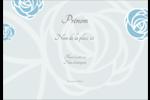 Roses bleues officielles Étiquettes à codage couleur - gabarit prédéfini. <br/>Utilisez notre logiciel Avery Design & Print Online pour personnaliser facilement la conception.