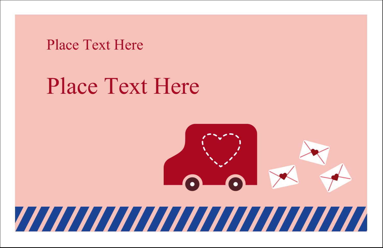 "5½"" x 8½"" Greeting Card - Valentine Mail"