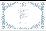 Réservez la date bleu Cartes Et Articles D'Artisanat Imprimables - gabarit prédéfini. <br/>Utilisez notre logiciel Avery Design & Print Online pour personnaliser facilement la conception.