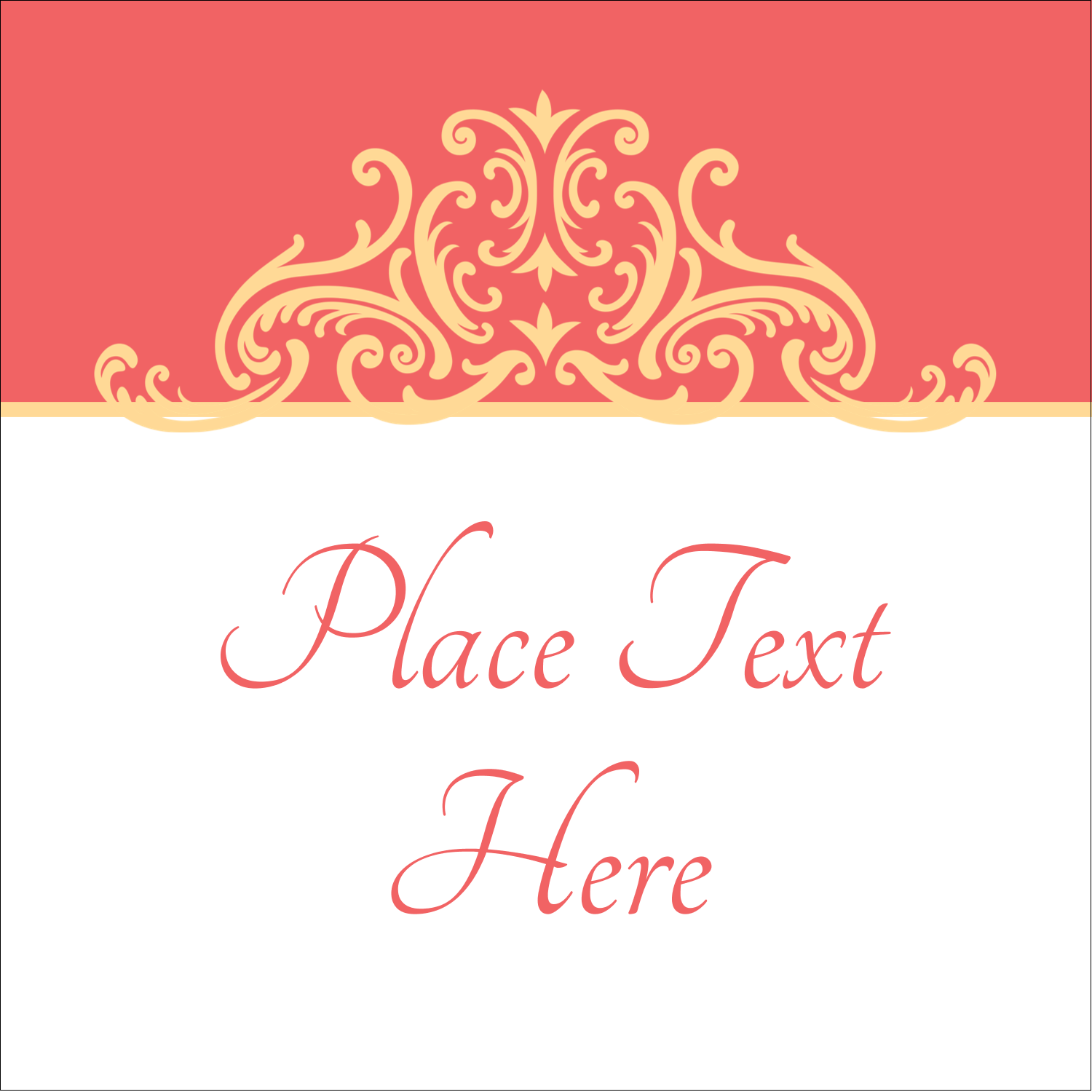 "1½"" x 1½"" Square Label - Wedding Elegance"