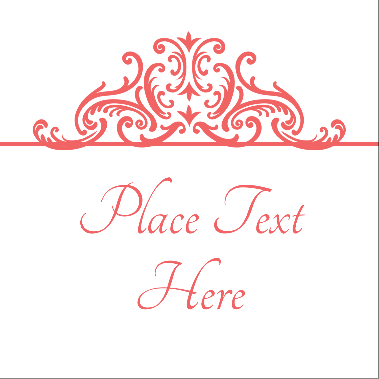 "2"" x 2"" Sqaure Label - Wedding Elegance"