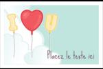 Ballon d'amour de Saint-Valentin Cartes Et Articles D'Artisanat Imprimables - gabarit prédéfini. <br/>Utilisez notre logiciel Avery Design & Print Online pour personnaliser facilement la conception.