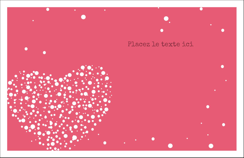 """8½"""" x 11"""" Cartes Et Articles D'Artisanat Imprimables - Amas en cœur"""