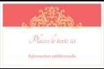 Élégance et mariage Cartes Et Articles D'Artisanat Imprimables - gabarit prédéfini. <br/>Utilisez notre logiciel Avery Design & Print Online pour personnaliser facilement la conception.