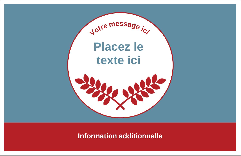 """8½"""" x 11"""" Cartes Et Articles D'Artisanat Imprimables - Feuillage rouge et gris"""