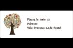 Arbre tuteur Étiquettes d'adresse - gabarit prédéfini. <br/>Utilisez notre logiciel Avery Design & Print Online pour personnaliser facilement la conception.