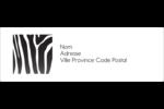 Imprimé zébré Intercalaires / Onglets - gabarit prédéfini. <br/>Utilisez notre logiciel Avery Design & Print Online pour personnaliser facilement la conception.