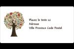 Arbre tuteur Étiquettes de classement écologiques - gabarit prédéfini. <br/>Utilisez notre logiciel Avery Design & Print Online pour personnaliser facilement la conception.