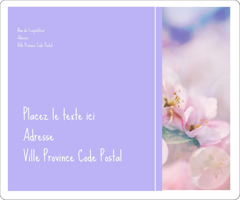 """½"""" x 1¾"""" Étiquettes D'Adresse - Arrangement floral"""