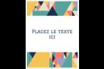 Mosaïque tangram éclatante Étiquettes D'Adresse - gabarit prédéfini. <br/>Utilisez notre logiciel Avery Design & Print Online pour personnaliser facilement la conception.
