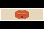 Ruche violette Affichette - gabarit prédéfini. <br/>Utilisez notre logiciel Avery Design & Print Online pour personnaliser facilement la conception.