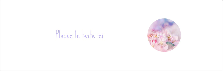 """4¼"""" x 5½"""" Carte de note - Arrangement floral"""