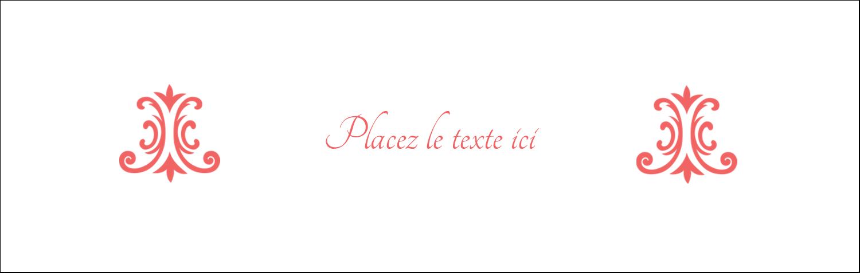 """4¼"""" x 5½"""" Cartes de notes - Élégance et mariage"""