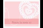 Saint-Valentin au crochet Cartes Et Articles D'Artisanat Imprimables - gabarit prédéfini. <br/>Utilisez notre logiciel Avery Design & Print Online pour personnaliser facilement la conception.