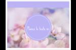 Arrangement floral Cartes Et Articles D'Artisanat Imprimables - gabarit prédéfini. <br/>Utilisez notre logiciel Avery Design & Print Online pour personnaliser facilement la conception.