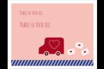 Saint-Valentin par la poste Cartes Et Articles D'Artisanat Imprimables - gabarit prédéfini. <br/>Utilisez notre logiciel Avery Design & Print Online pour personnaliser facilement la conception.