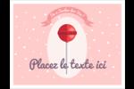Sucette de Saint-Valentin Cartes Et Articles D'Artisanat Imprimables - gabarit prédéfini. <br/>Utilisez notre logiciel Avery Design & Print Online pour personnaliser facilement la conception.