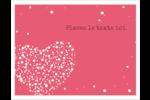 Amas en cœur Cartes Et Articles D'Artisanat Imprimables - gabarit prédéfini. <br/>Utilisez notre logiciel Avery Design & Print Online pour personnaliser facilement la conception.