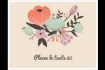 Jardin exotique Cartes de notes - gabarit prédéfini. <br/>Utilisez notre logiciel Avery Design & Print Online pour personnaliser facilement la conception.