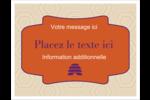 Ruche violette Cartes Et Articles D'Artisanat Imprimables - gabarit prédéfini. <br/>Utilisez notre logiciel Avery Design & Print Online pour personnaliser facilement la conception.