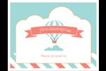 Ballon bleu Cartes Et Articles D'Artisanat Imprimables - gabarit prédéfini. <br/>Utilisez notre logiciel Avery Design & Print Online pour personnaliser facilement la conception.