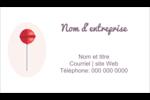 Sucette de Saint-Valentin Carte d'affaire - gabarit prédéfini. <br/>Utilisez notre logiciel Avery Design & Print Online pour personnaliser facilement la conception.