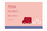 Saint-Valentin par la poste Badges - gabarit prédéfini. <br/>Utilisez notre logiciel Avery Design & Print Online pour personnaliser facilement la conception.