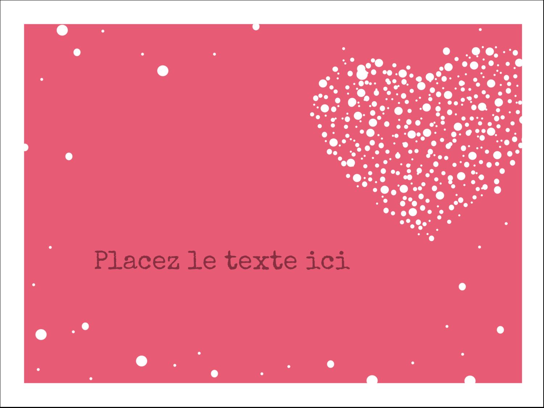 """3"""" x 4"""" Badges - Amas en cœur"""