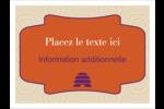 Ruche violette Badges - gabarit prédéfini. <br/>Utilisez notre logiciel Avery Design & Print Online pour personnaliser facilement la conception.