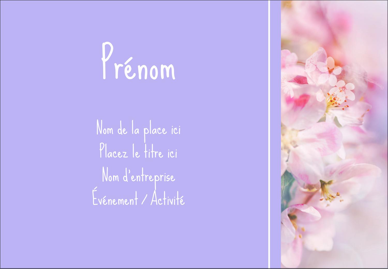"""1¼"""" Étiquettes à codage couleur - Arrangement floral"""