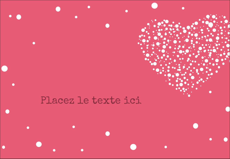 """1¼"""" Étiquettes à codage couleur - Amas en cœur"""