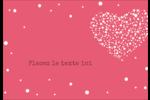 Amas en cœur Étiquettes à codage couleur - gabarit prédéfini. <br/>Utilisez notre logiciel Avery Design & Print Online pour personnaliser facilement la conception.
