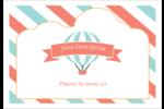 Ballon bleu Étiquettes à codage couleur - gabarit prédéfini. <br/>Utilisez notre logiciel Avery Design & Print Online pour personnaliser facilement la conception.