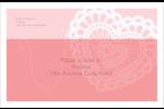 Saint-Valentin au crochet Étiquettes d'adresse - gabarit prédéfini. <br/>Utilisez notre logiciel Avery Design & Print Online pour personnaliser facilement la conception.