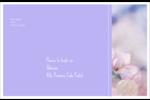 Arrangement floral Étiquettes d'adresse - gabarit prédéfini. <br/>Utilisez notre logiciel Avery Design & Print Online pour personnaliser facilement la conception.