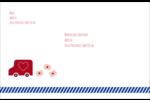 Saint-Valentin par la poste Étiquettes d'adresse - gabarit prédéfini. <br/>Utilisez notre logiciel Avery Design & Print Online pour personnaliser facilement la conception.