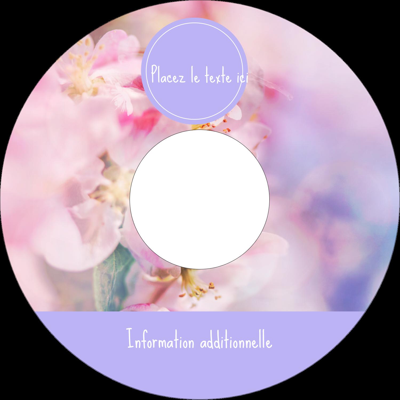 """⅔"""" x 3-7/16"""" Étiquettes de classement - Arrangement floral"""