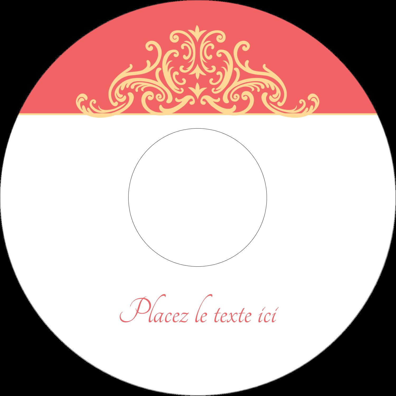 """⅔"""" x 3-7/16"""" Étiquettes de classement - Élégance et mariage"""